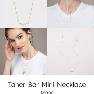 BRAND NEW* Gorjana Taner Mini Bar Necklace